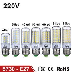 E27 led lamp 220v 240v led light corn bulb smd5730 lampada led bulbs 24 36 48.jpg 250x250