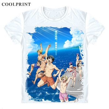 COOLPRINT Grand Blue Guranburu T-Shirts Short Sleeve Shirts Anime Grand Blue Dreaming Kotegawa Chisa Kitahara Iori Cosplay Shirt image