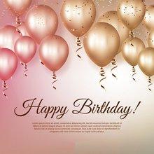 Feliz Aniversário balões foto Vinil pano de fundo pano de Fundo festa de Alta qualidade de impressão Computador