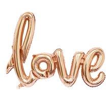 104cm Letter LOVE Siamesed Foil Balloons
