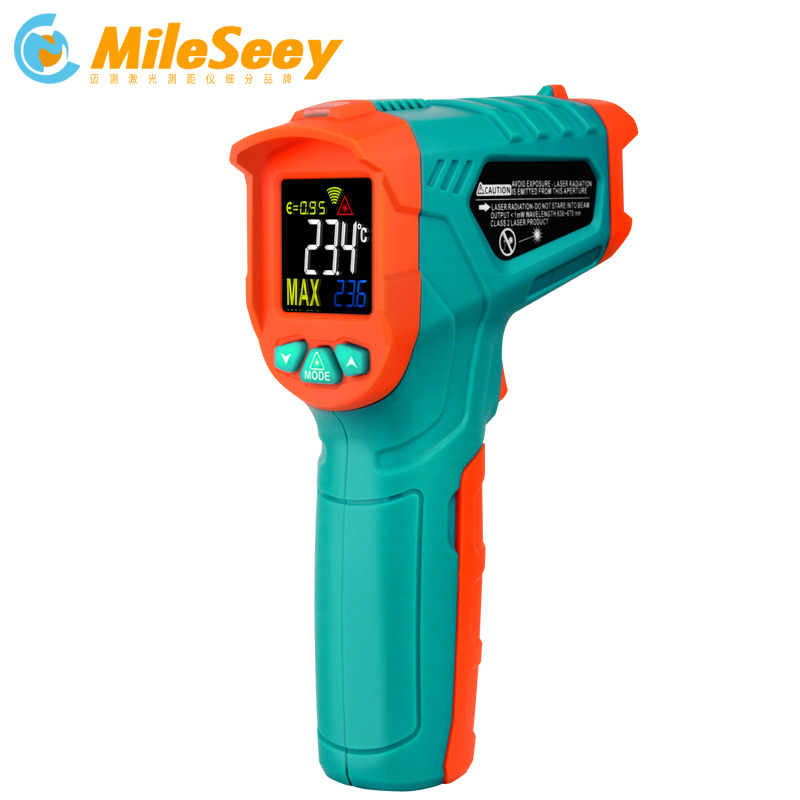 Image 1 - Mileseey Non contact Infrared Thermometer Digital Temperature 