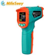 Mileseey عدم الاتصال الأشعة تحت الحمراء ميزان الحرارة الرقمي قياس درجة الحرارة IR ترمومتر ليزر