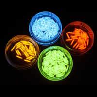 EDC 1 PCS Tritium Gas Rohr 1,5*6mm Selbst Leucht 15 Jahre Von High-tech Produkte EDC multi-farbe Auswahl Notfall Lichter
