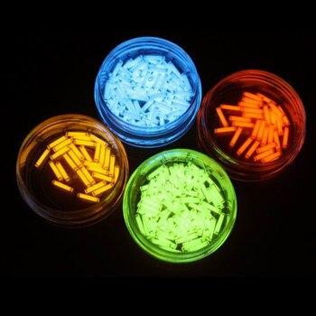 EDC 1 piezas Gas de tritio tubo 1,5*6mm auto luminosa 15 años de productos de alta tecnología EDC luces de emergencia de selección de varios colores
