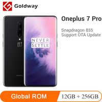 "Global ROM Oneplus 7 Pro 12GB 256GB Smartphone Snapdragon 855 4000mAh 6.67"" AMOLED 48MP 30W Fingerprint NFC Mobile Phone"