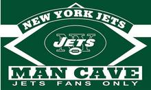 3X5FT new York jets  man cave flag Digital printing banner