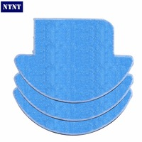NTNT 3 Pcsx ILIFE Robot Vacuum Cleaner MOP Cloth Fiber For ILIFE V7S Replacement Mop Cleaning