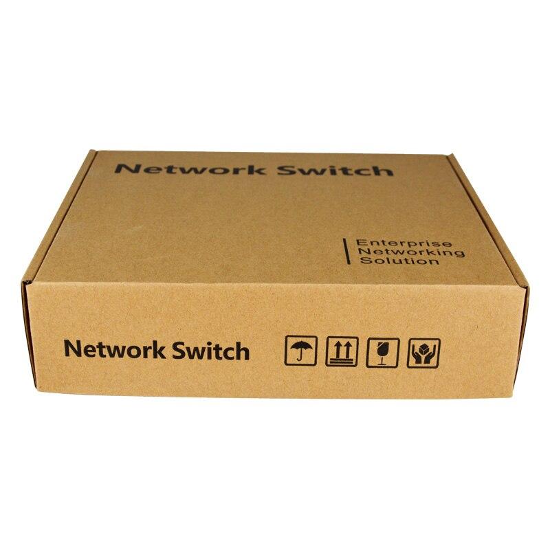 SZSSCEE Gigabit 10 port commutateur poe soutien Ieee802.3af/à caméras ip et point d'accès sans fil 10/100/1000 Mbps standard interrupteur réseau - 6