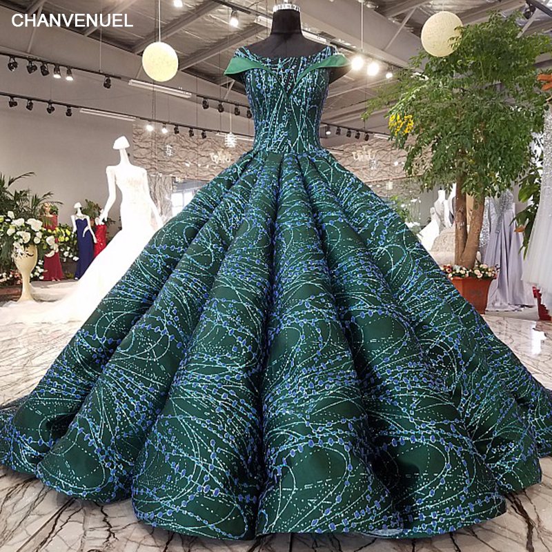 LS21450 evening dress long lace flowers sequined lace up back 2017 ...