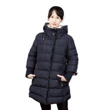 Fashion Women Winter Coats Jacket Women's Hooded Cotton-padded Jackets Long Coat Plus Size 3XL Size Fashion Cotton Clothes