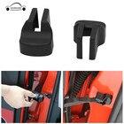2Pcs Car Door Check Arm Protection Cover Door Stopper Buckle Stop Cap Rust protector Door Hinges Cover For 2015-2018 Ford Mustan
