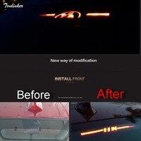 1 PCS Car New DIY Acrylic Back High Brake Light Sticker Cover Case For Bmw New