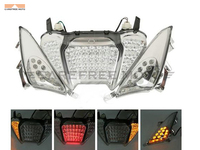 Мотоцикл светодиодный ходовые огни стоп поворотники задний фонарь интегрированный комплект чехол для Yamaha TMAX 500 2008 2011