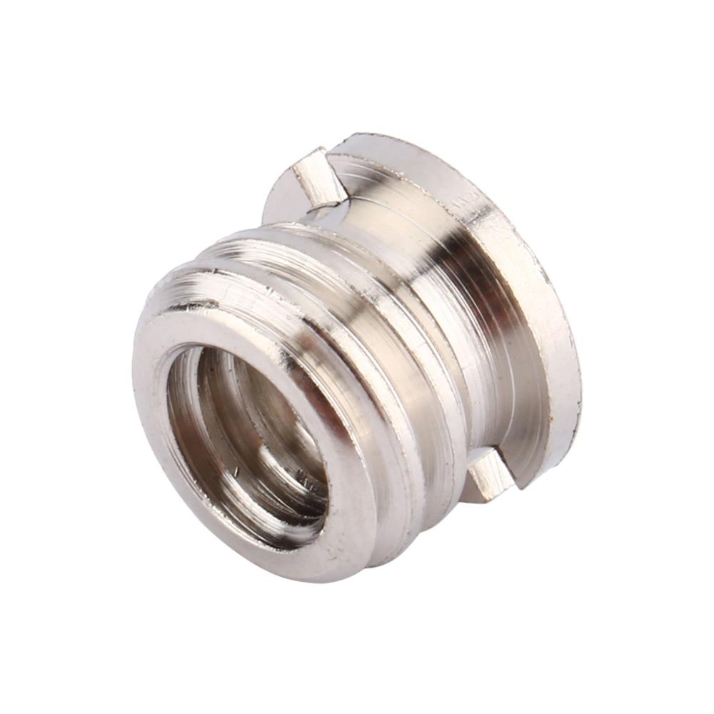 1pcs Female 1/4 to Male 3/8 Convert Screw Adapter for Tripod Monopod Ballhead Camera DSLR SLR Accessories metal 1 4 male to 1 4 male 3 8 screw set silver