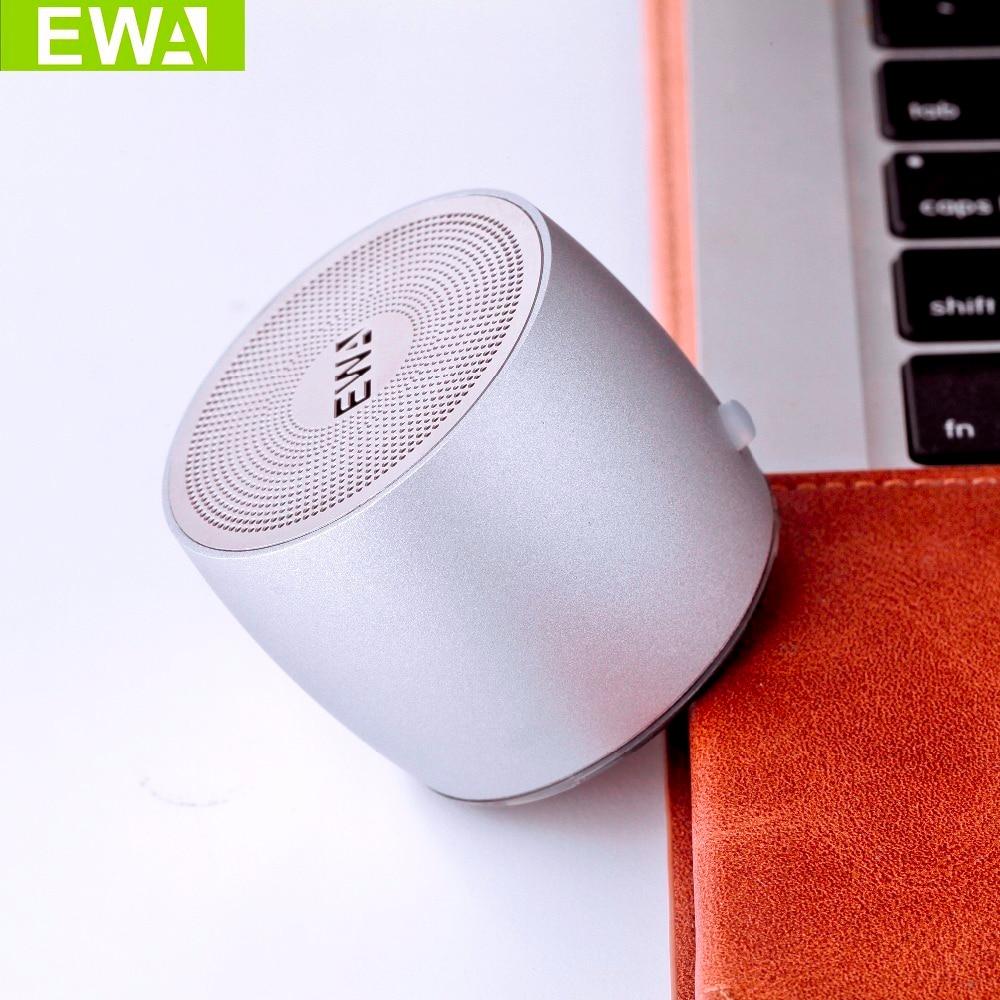 EWa A103 Portable Speaker For Phone/Tablet/PC Mini Wireless Bluetooth Speaker Metallic USB Input MP3 Player