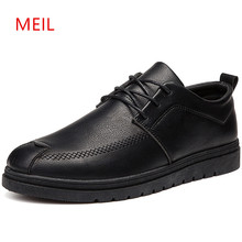 Mens Leather Shoes For Men Loafers 2018 Designer Breathable Boat Mocassins Shoe
