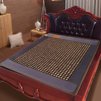 Jade Tourmaline Mat Electric Heating Massage Mattress With Far Infrared Theraphy High Quality Products Directly From