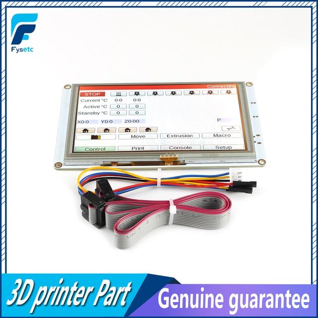 Contrôleur décran tactile de couleur intégré, 5 pouces, pour DuetWifi, duo 2 Ethernet, pièces dimprimante 3D, 5 pouces