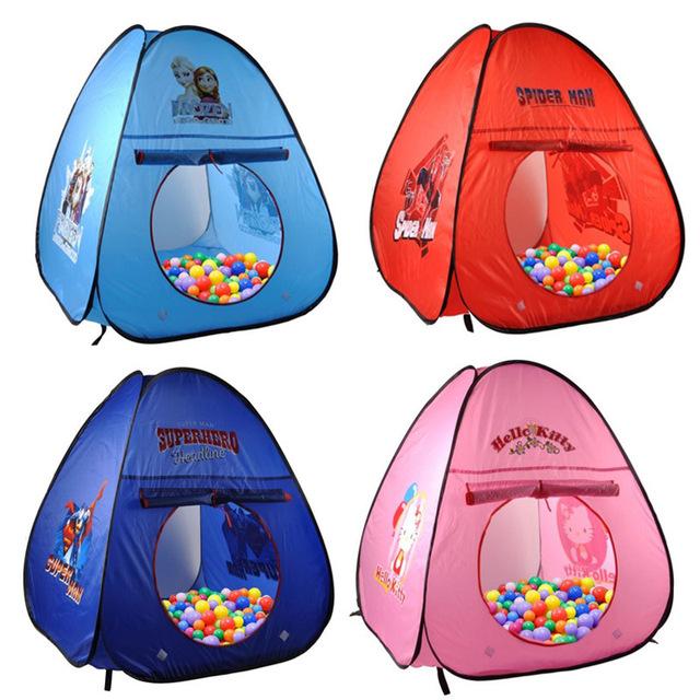 La Seguridad del bebé Corralito Bebé Corralitos tienda de Tiendas de Campaña para Niños con Malla Cestería Kids Play Tent Interior Estrés Bola Del Océano piscina