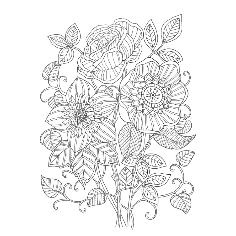 Lost Garden Art Coloring Notepad Colouring Book For Children Adults Relieve Stress Drawing Antistress Books Gift In From Office School