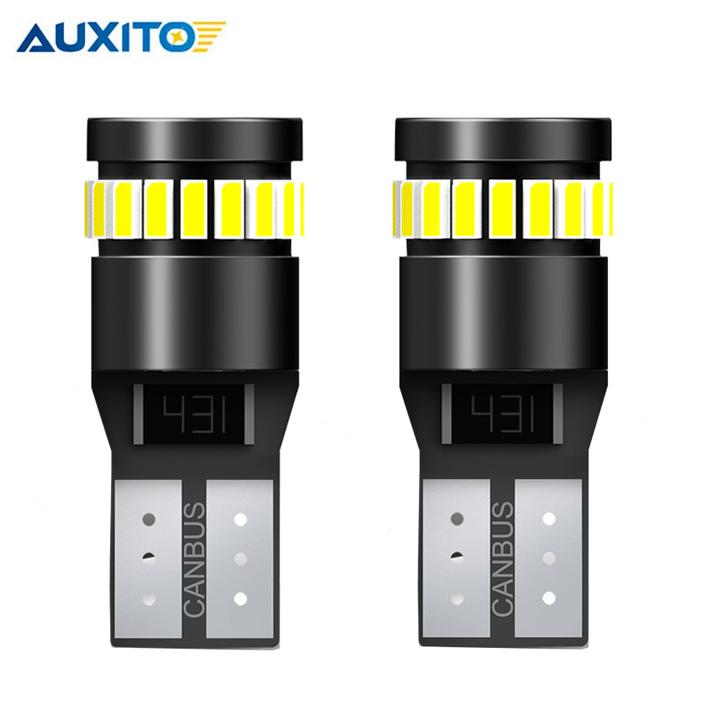 2PCS T10 <font><b>LED</b></font> CANBUS <font><b>W5W</b></font> 194 168 <font><b>W5W</b></font> 3014 SMD Signal Lamp No OBC Error T10 <font><b>LED</b></font> Car Clearance Parking Light Yellow White Blue Red image