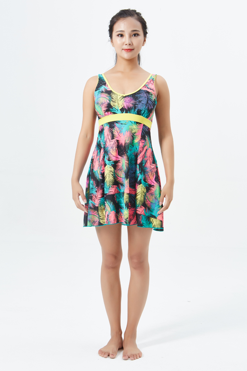 nsa one swimsuit swim dress skirt summer