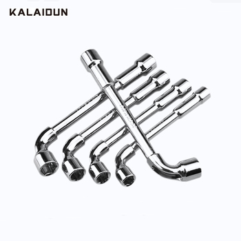 KALAIDUN Socket Wrench Double Head Hexagon Sleeves Torque Ratchet Universal Key Spanner Car Repair Remover Mounting Hand Tools socket wrench