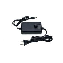 купить Adjustable AC To DC 3V-12V 9V-24V Universal Adapter With Display Screen Voltage Regulated Power Supply Adatpor 3 12V US Plug по цене 768.55 рублей