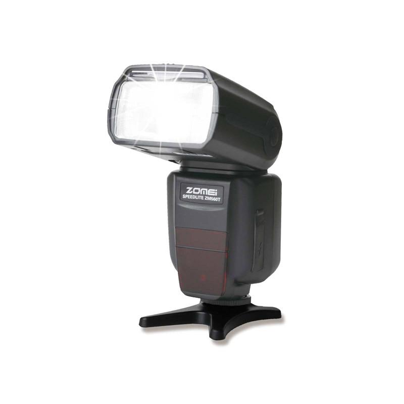 Zomei ZM560T Профессиональный Высокоскоростной Внешняя Вспышка Фонарик Flashlite с Софтбокс Рассеиватель для Canon Цифровые ЗЕРКАЛЬНЫЕ Камеры