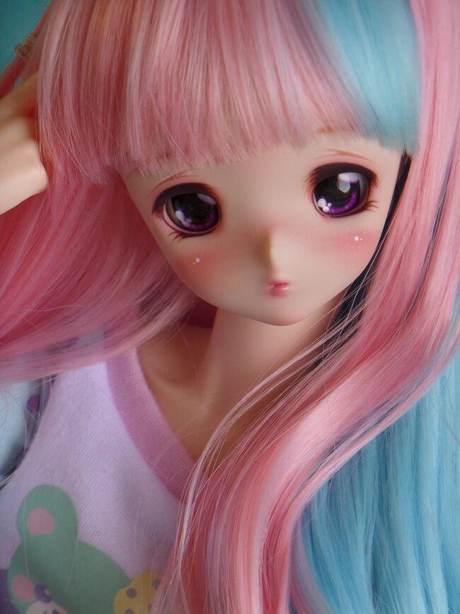 HeHeBJD 1/3 scale girl Hibiki tall attractive body popular bjd resin dolls  free eyesDolls   -