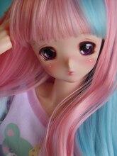 HeHeBJD poupées en résine bjd à fille, taille 1/3, Hibiki, corps grand et attrayant, yeux libres
