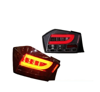 car styling for Tail Lamp for City taillight 2008 2009 2010 2011 2012 City Rear Light DRL+Turn Signal+Brake+Reverse LED lights