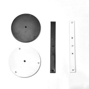 Image 5 - Pendentif Lampe Accessoire 3 lampes bar Ronde Plafond Monté Plaque Couvert Personnaliser pour Pendentif lumières hanglamp