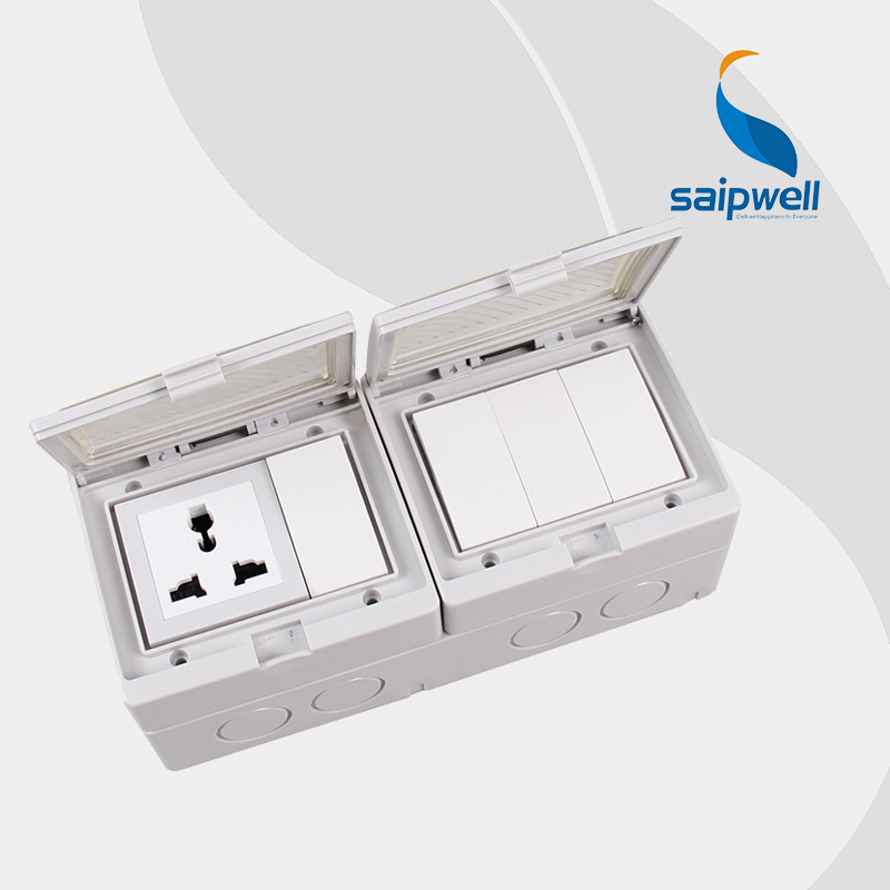 High Quality Four Position Switch with One GB Socket ...