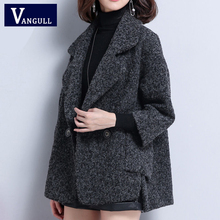 Women Woolen Outerwear Warm