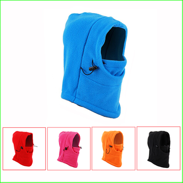 TH03C Warm Full Face Cover Winter Ski Mask Scarf Beanie CS hat outdoor riding sports caps For 5~12 Years Old Children
