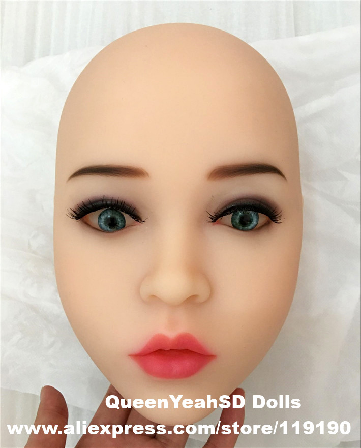 Top quality oral sex doll head for japanese realistic dolls, realdoll heads, adult sex toys цена