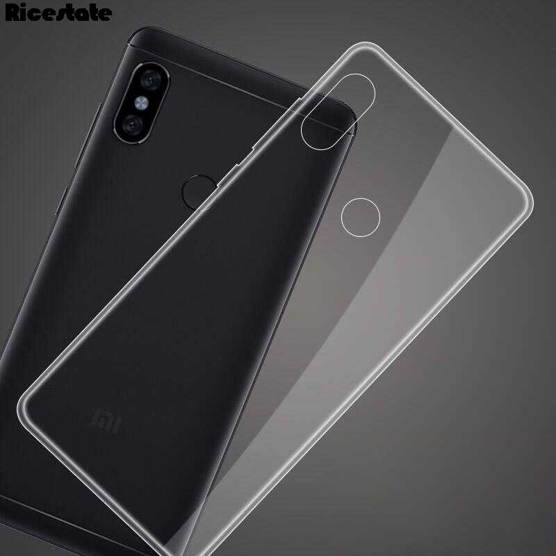 Ricestate Crystal Cover untuk Xiaomi Redmi 4A 5A 6 6A 5 Plus Note 4 4X 5 5A Note 5 6 pro Note 7 Pergi Transparan Kasus Silikon Lembut
