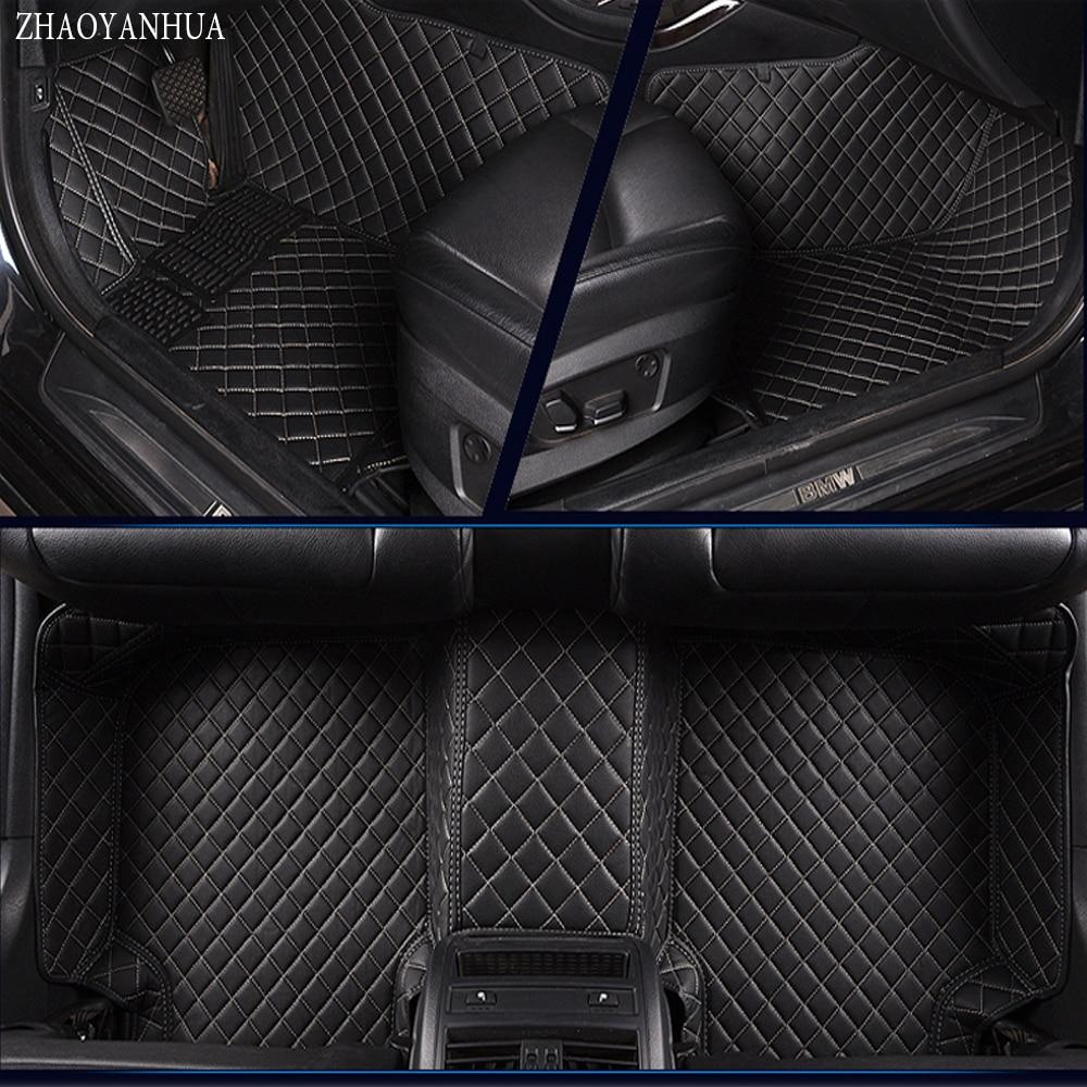 ZHAOYANHUA Car floor mats Case for Chevrolet Cruze Sonic Trax Sail captiva epica leather Anti-slip car-styling carpet liner накладка на задний бампер chevrolet epica 2006