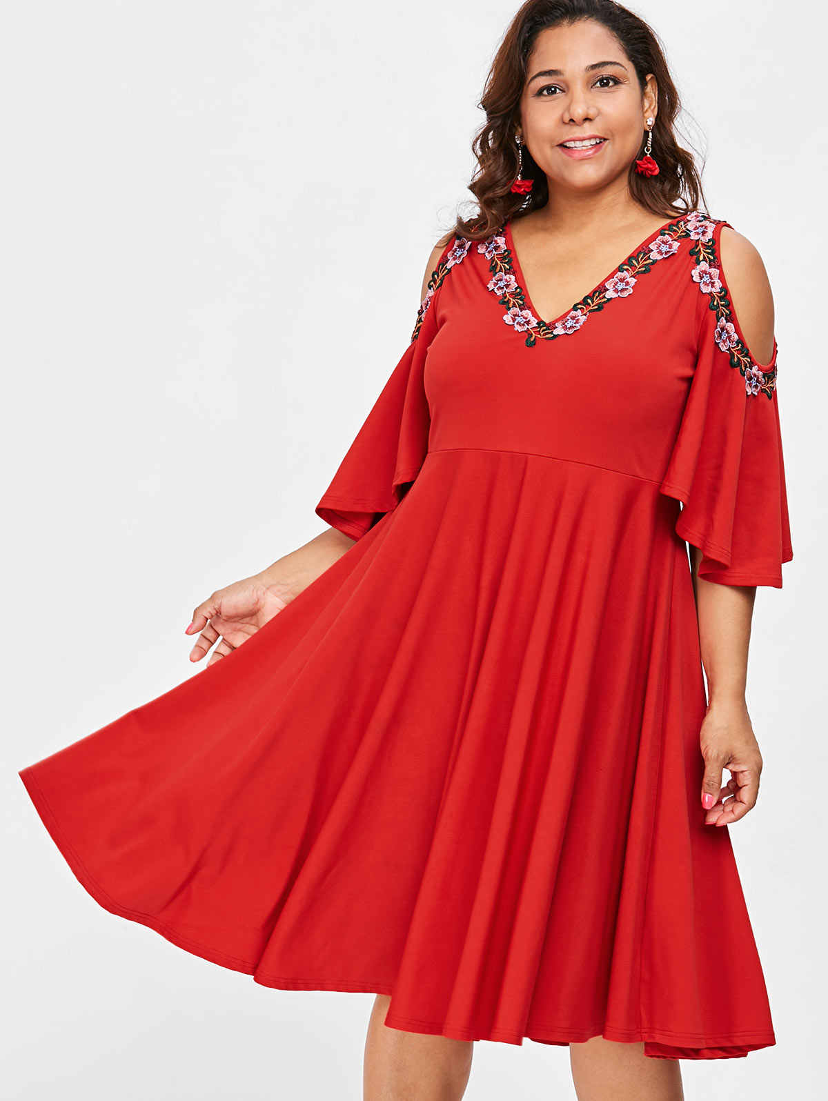 75849c0447931 Detail Feedback Questions about Wipalo Plus Size 5XL Floral ...