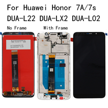5.45 For Huawei Honor 7A 7S LCD Display Touch Screen Digitizer With Frame DUA-L02 DUA-L22 DUA-LX2