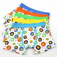 Cartoon Monkey Childrens Underwear Right Angle Baby Boys