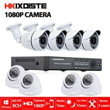 1080P HD 3000TVL Outdoor Security Camera System 1080P HDMI CCTV Video Surveillance 8CH DVR Kit nightvision 2.0MP AHD Camera Set