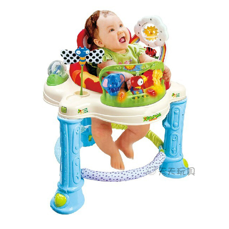 c267f38ac Musical Baby Activity Center Rainforest Jumperoo Baby Walker Bouncer ...