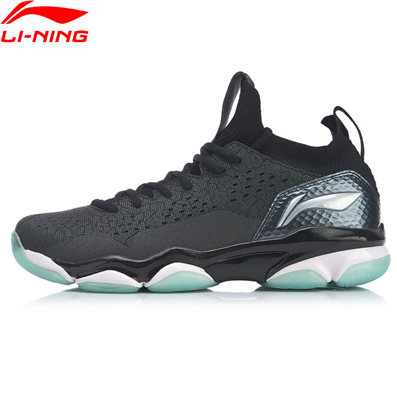 Li-Ning Men SONIC BOOM 2.0 Professional Badminton Shoes Cushion TUFF TIP Wearable LiNing Sport Shoes Sneakers AYZP001 XYY108
