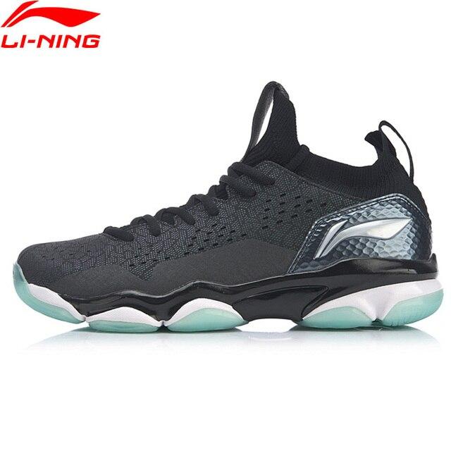 Li-Ning Men SONIC BOOM 2.0 Professional Badminton Shoes Cushion TUFF TIP Wearable LiNing Sport Shoes Sneakers AYZP001 XYY108