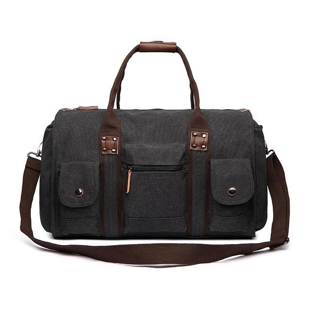 Canvas Duffle Bag Travel Overnight Tote Weekend Bags Men Bolsa De Viagem Hand Luggage Duffel Bag Man Reistas Bolso Mujer Grande