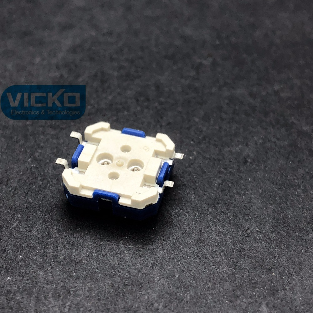 50 pièces/100 pièces RAFI SMD RACON 12 allemagne 12*12*5mm 12*12mm lumière tactile interrupteur SMT kone bouton de levage 1.14.001.503/0000 - 2