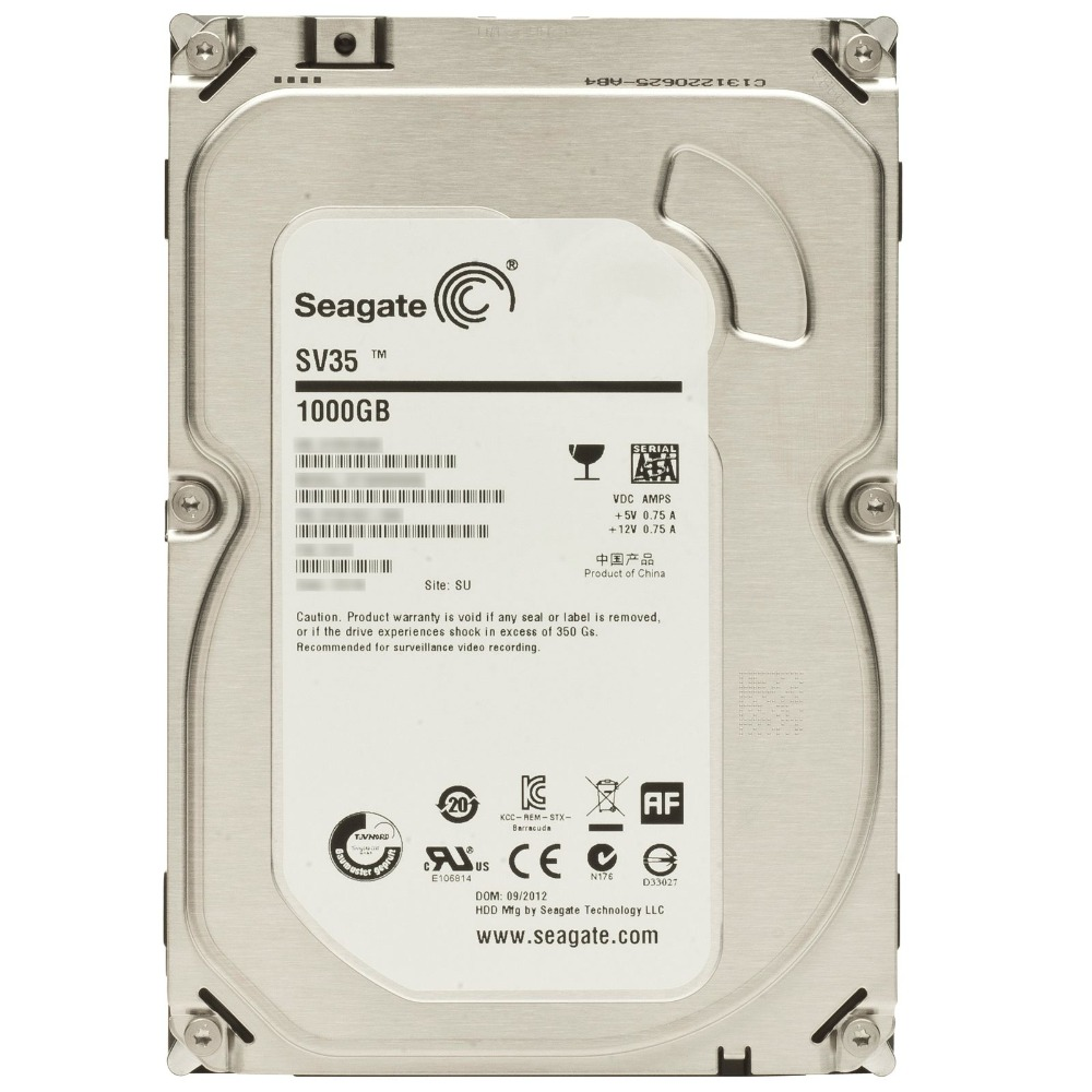 Seagate WD HDD 3.5inch Hard Disk Drive For CCTV video Surveillance Optimized Storage  3TB SATA 7200rpm sas hdd 43x0802 5532 300gb 15k 3 5 inch server hard disk drive three years warranty