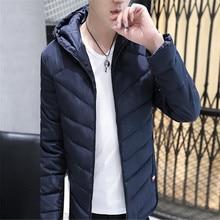 Новая одежда 2016 осень зима мужской одежды утолщение с капюшоном мальчик теплые хлопка мягкой одежда молодежная мода мужчины пальто топ